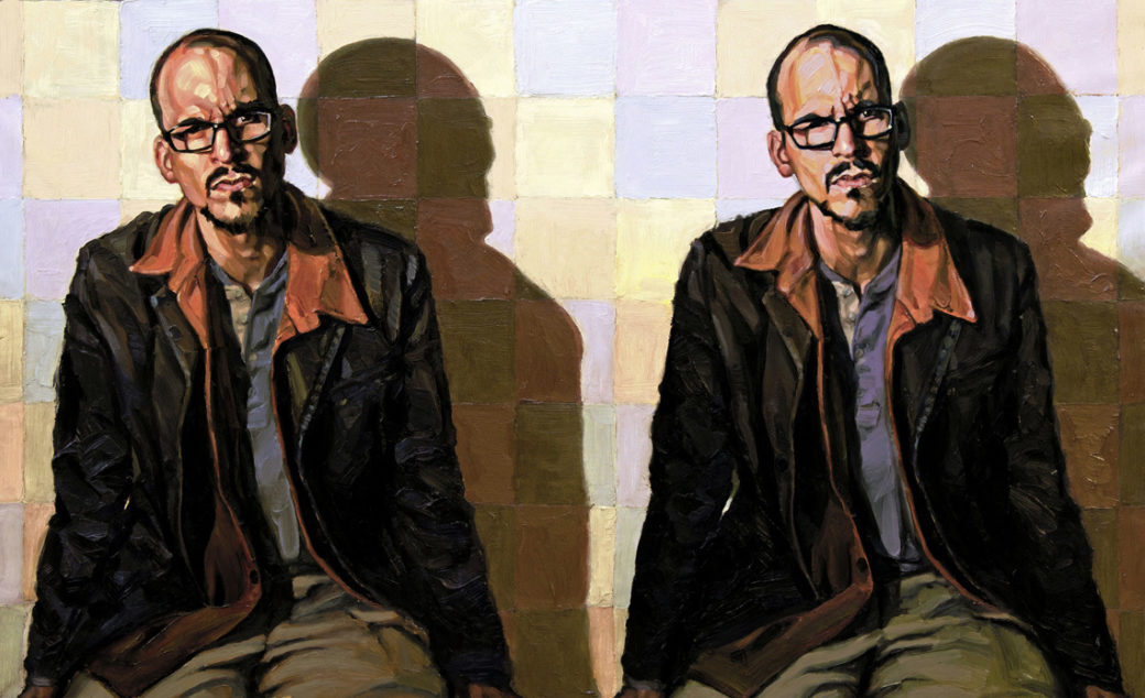 Breerwood Stereogram Self Portrait2014