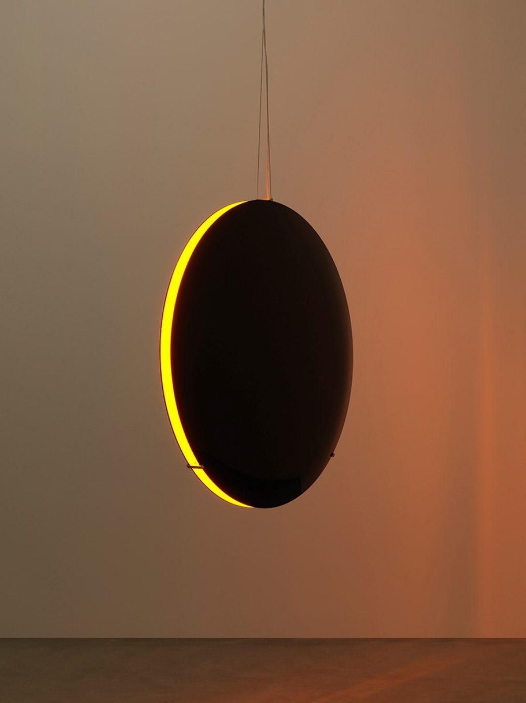 Olafur Eliasson, Black Glass Eclipse