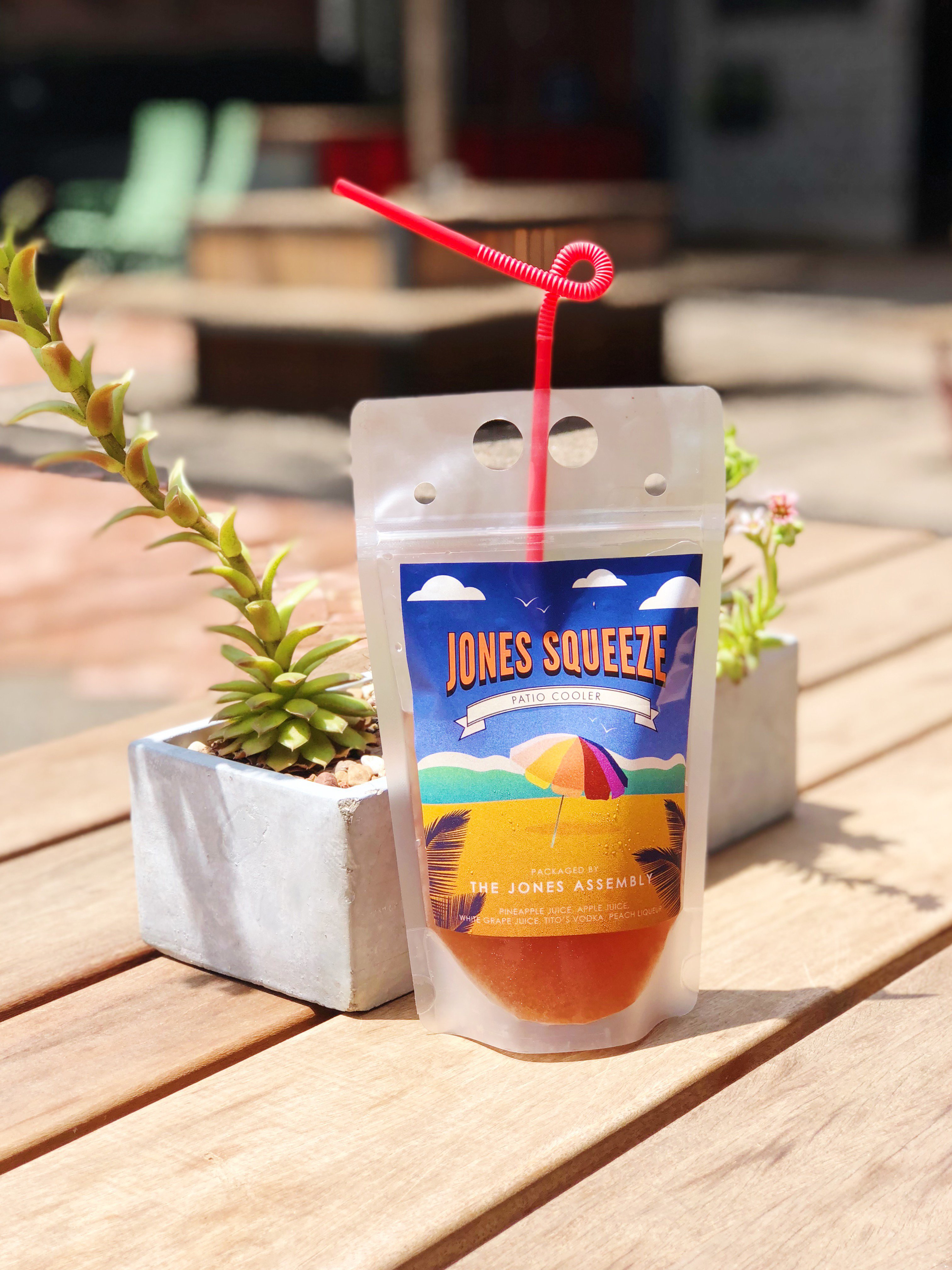 A juicebox with alcohol, a Capri Sun for adults