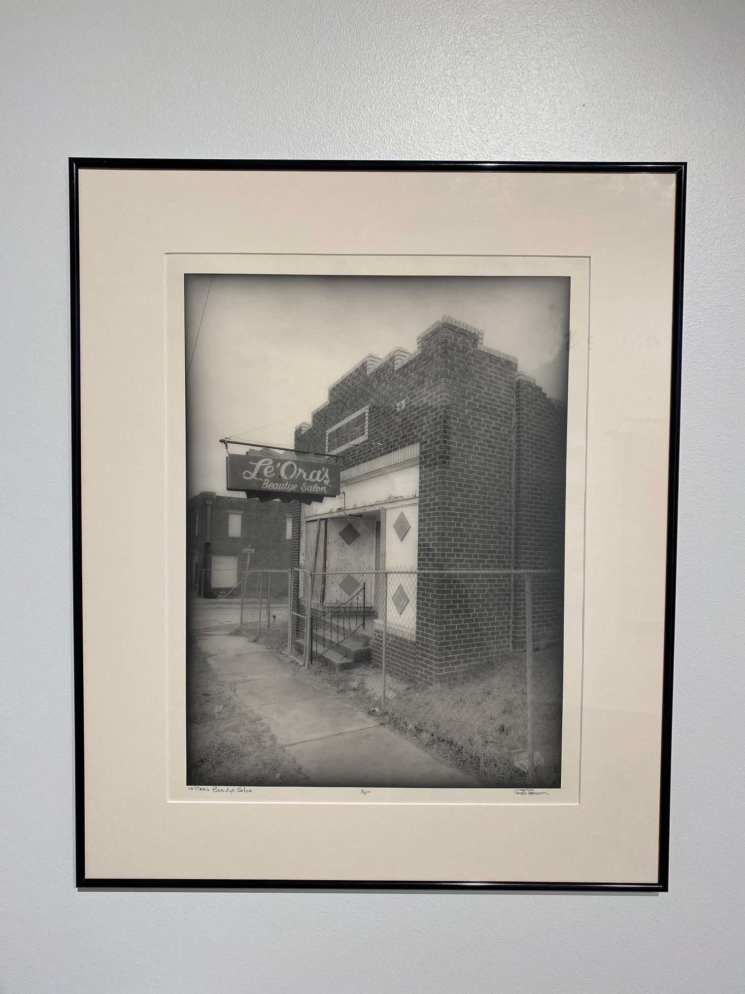A photograph of a beauty salon in Deep Deuce, Oklahoma City