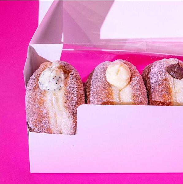 Neon Doughnuts