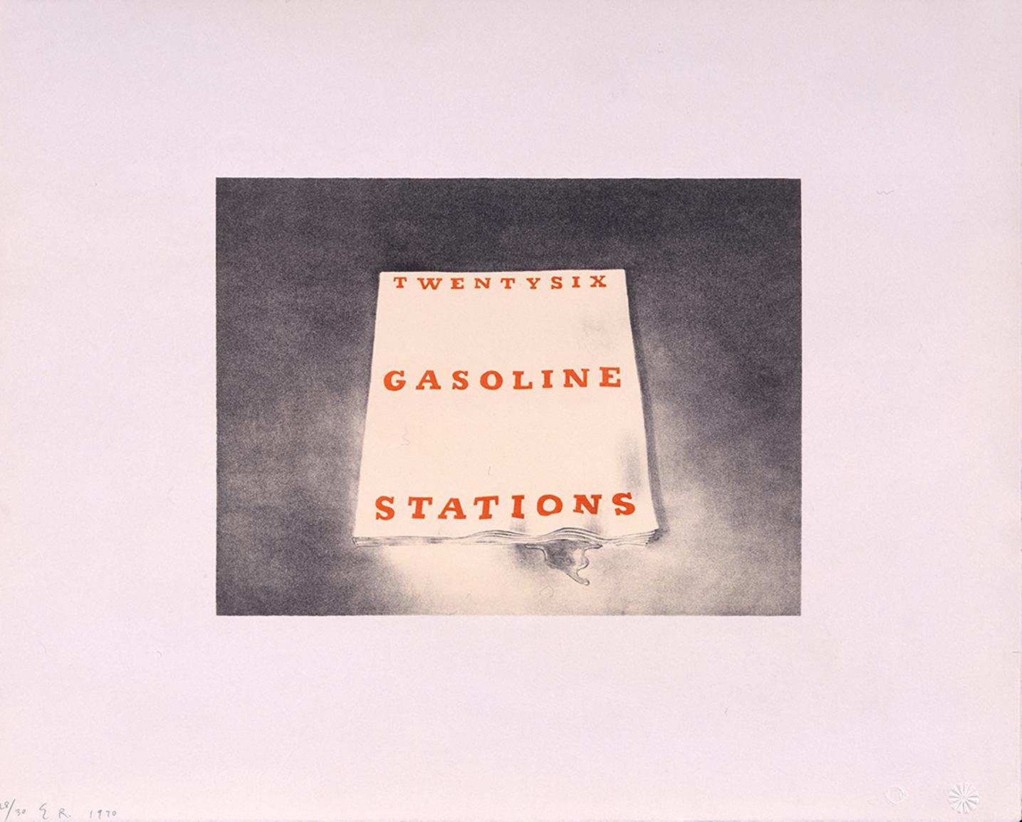 Ruscha Twenty six Gasoline Stations 1970