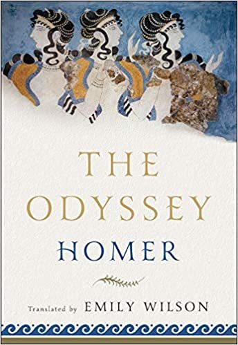 The cover of Homer's the Odyssey, translated by Emily Wilson