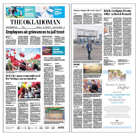 The Oklahoman Tuesday Sept 10 2019 A1 A3