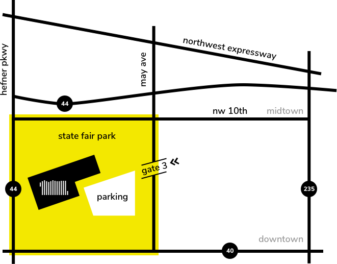 Map Fairgrounds